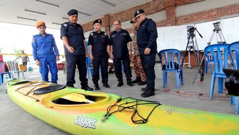 Missing Singaporean kayakers: Woman's body found off Terengganu