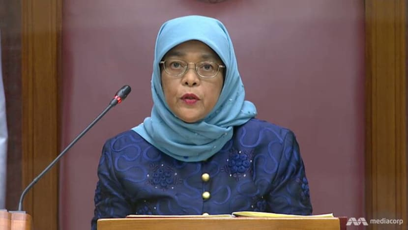 Singapore will push for sustainable growth, further strengthen social safety nets: President Halimah