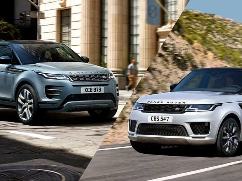 Range Rover's Evoque or Sport? Pitting a city slicker against its athletic cousin