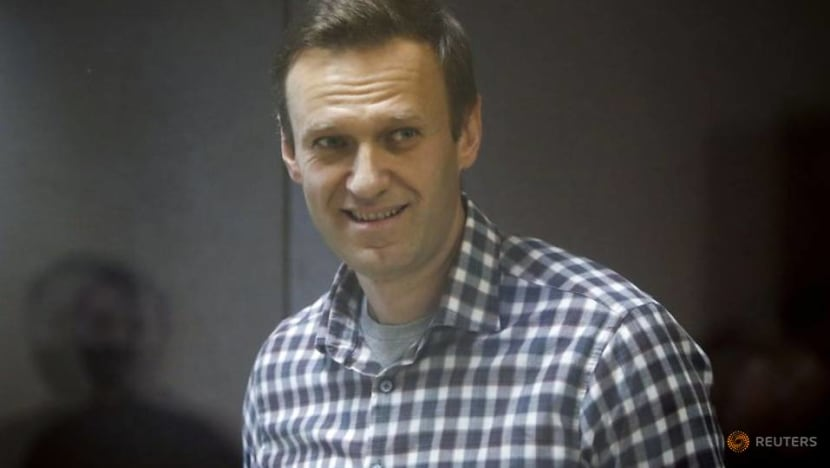 Jailed Kremlin critic Navalny says he is being prevented from sleeping, calls it torture