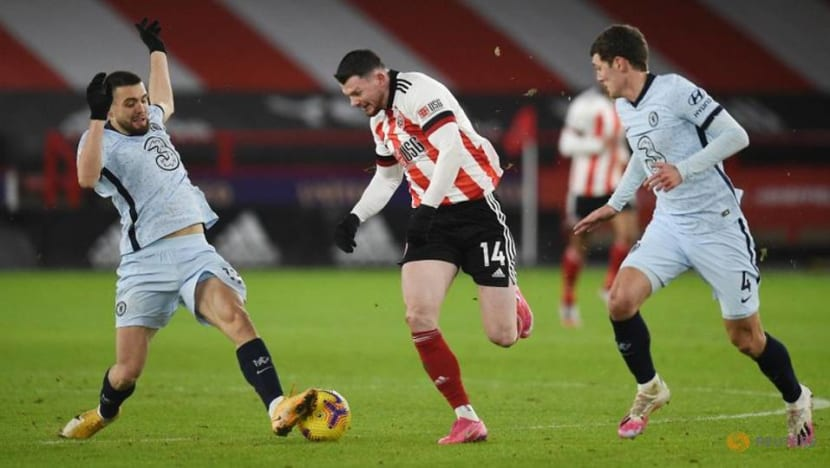 Chelsea beat Sheffield Utd 2-1 to continue rebound under Tuchel