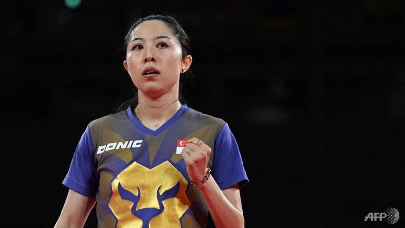 Table tennis: Singapore's Yu Mengyu beats Japan's Ishikawa to book Tokyo Olympics semi-final spot