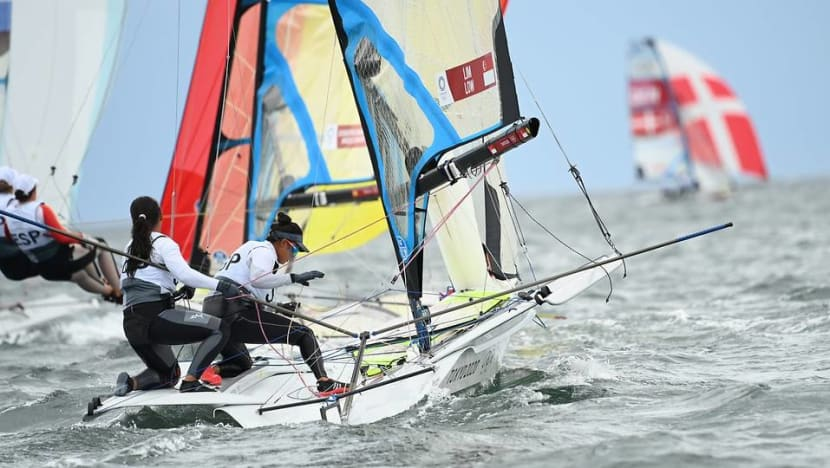 Sailing: Kimberly Lim and Cecilia Low finish 9th overall, first Singaporeans to qualify for medal race at Olympics
