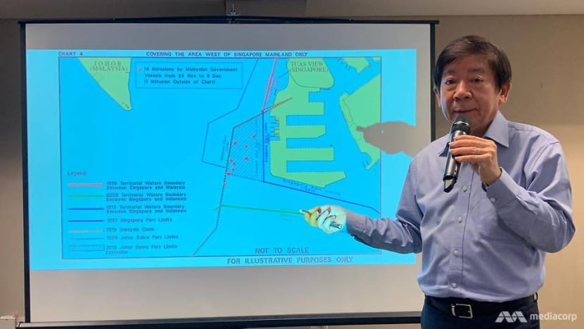 Singapore extends port limits off Tuas, won't hesitate to take action against Malaysia intrusions: Khaw