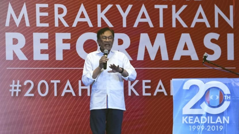 Anwar warns against racial and religious conflicts as Pakatan Harapan marks first year in power