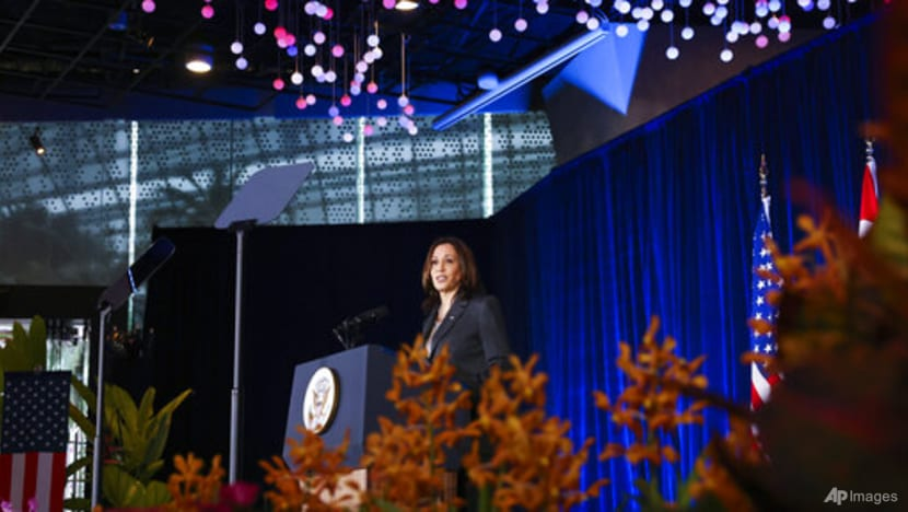 Watch: US Vice President Kamala Harris gives policy speech in Singapore