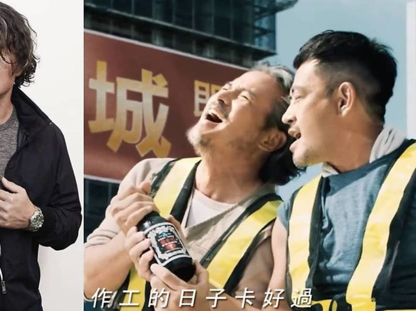 Veteran actor Christopher Lee is the new spokesperson for Taiwan energy drink Whisbih