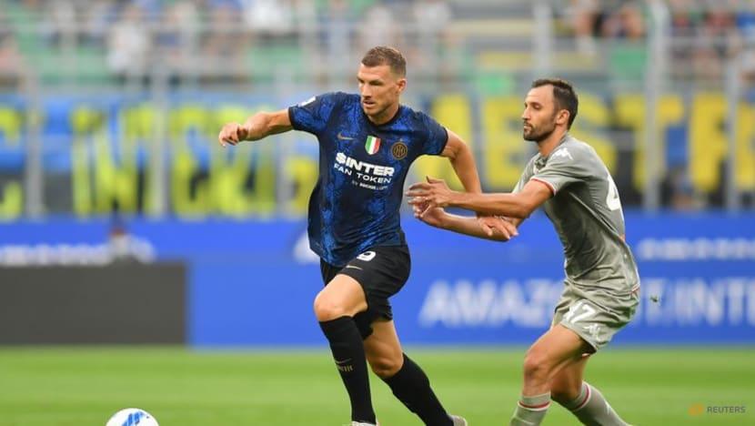 Soccer-Dzeko on target as champions Inter impress in win over Genoa
