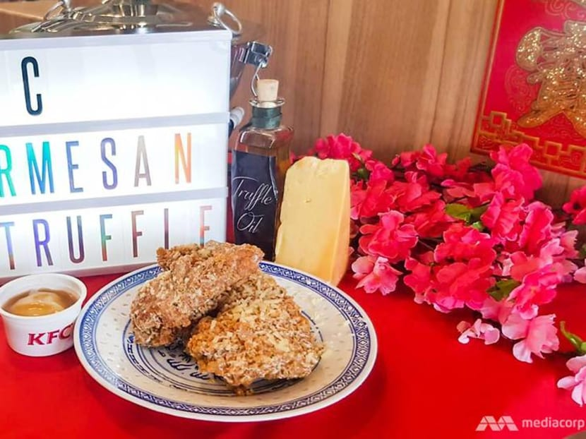 KFC launches new Truffle Parmesan Chicken for CNY