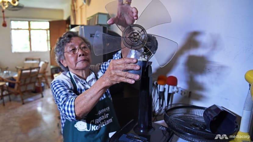 If you don't try to fix it you'll never know: A 79-year-old retiree who's the neighbourhood handyman