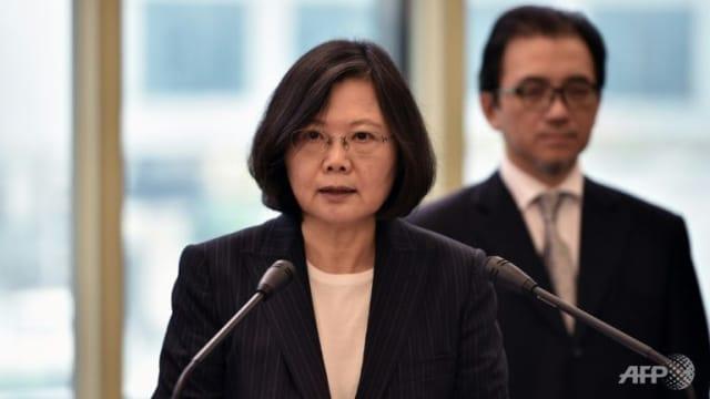 蔡英文:台湾不会接受一国两制