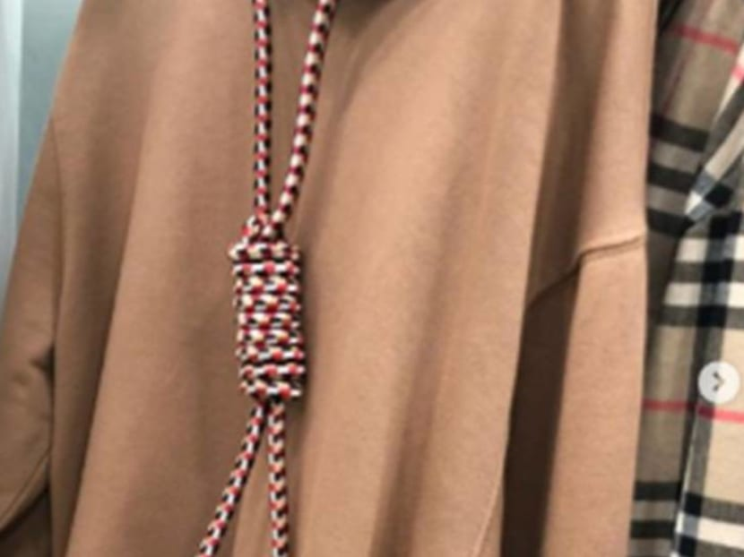 Burberry apologises for noose hoodie after criticism by model