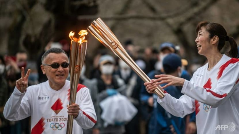 Olympic torch relay barred from Osaka public roads: Governor