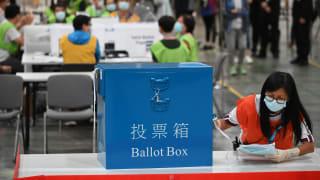 港选委会选举结果出炉 新一届任期从下月22日开始