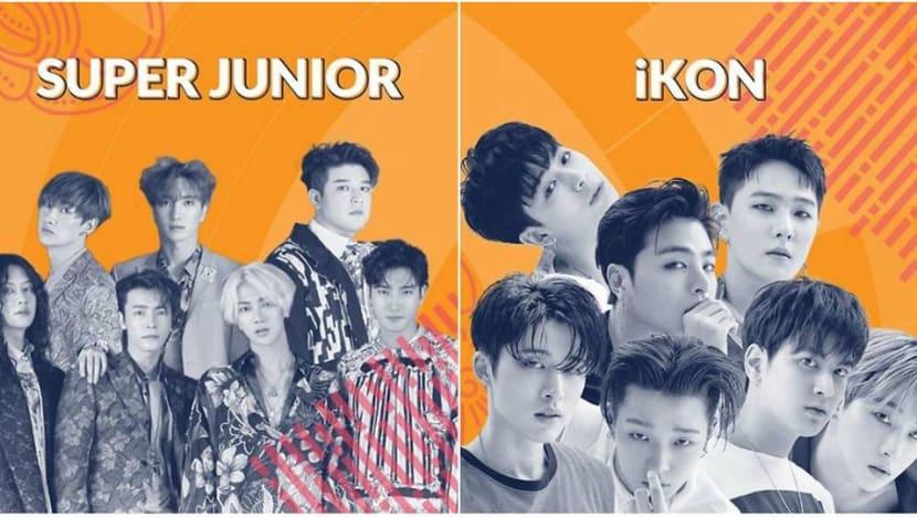 K-pop acts Super Junior, iKON to close 2018 Asian Games