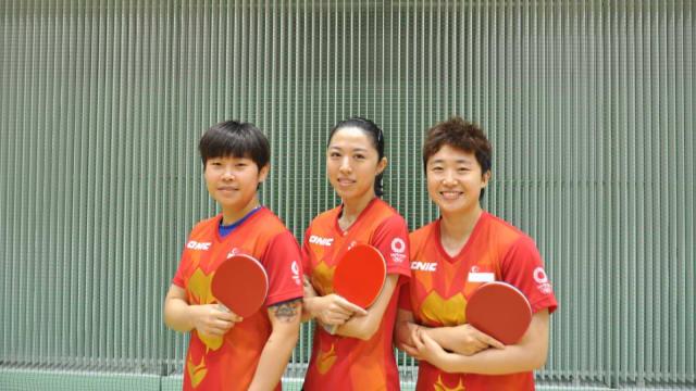 明天硬碰夺冠热门中国 我国乒乓女团:全力以赴拼每一分
