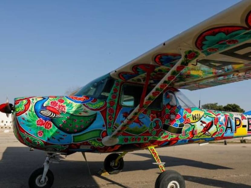 From the highways to the skies: Pakistan's famous truck art goes airborne