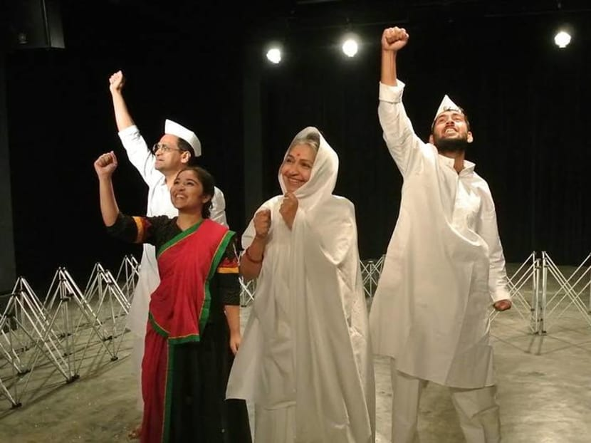 Singapore play about Gandhi's wife sheds light on Indian leader's life