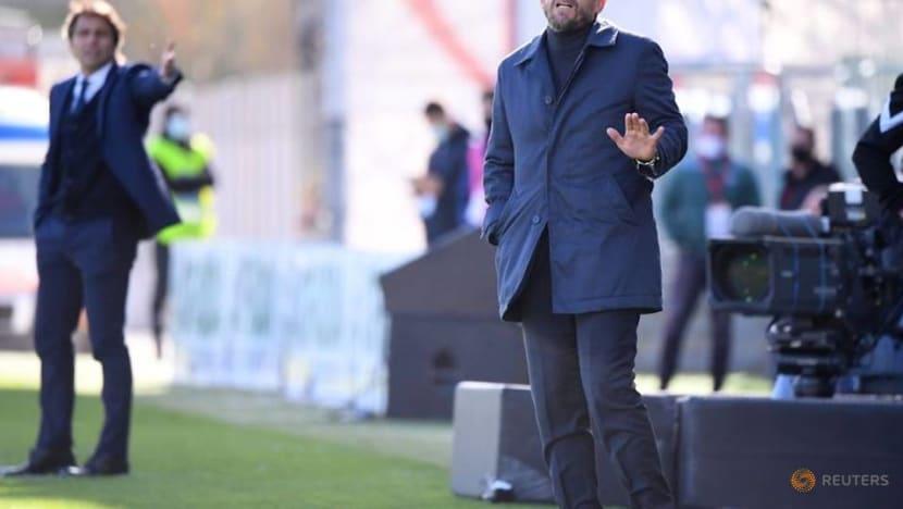 Serie A strugglers Cagliari sack coach Di Francesco