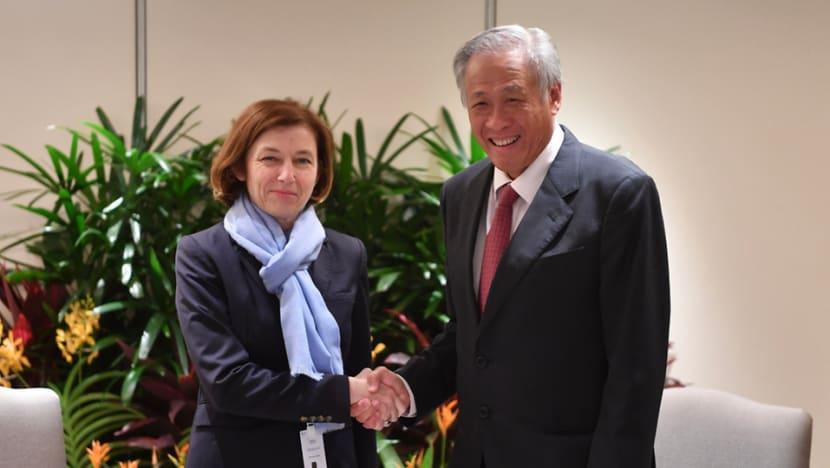 Ng Eng Hen reaffirms bilateral defence relations with counterparts at Shangri-La Dialogue