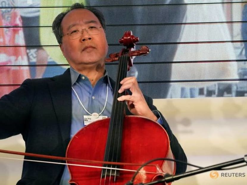 Cellist Yo-Yo Ma offers Songs Of Comfort And Hope in duo album