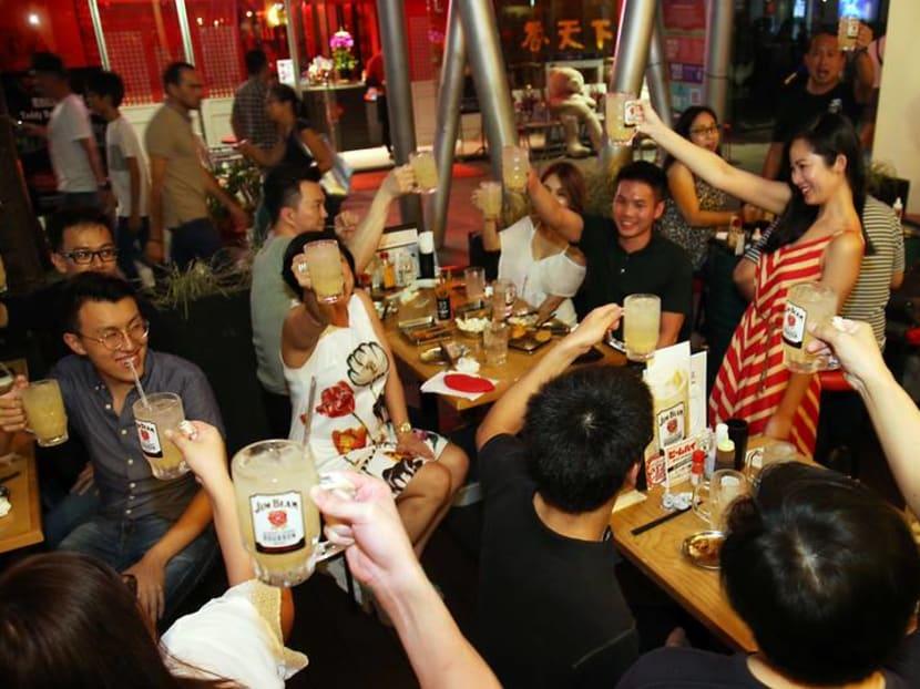 CNA Lifestyle Experiences: Transported to an Osaka izakaya with highballs and street snacks