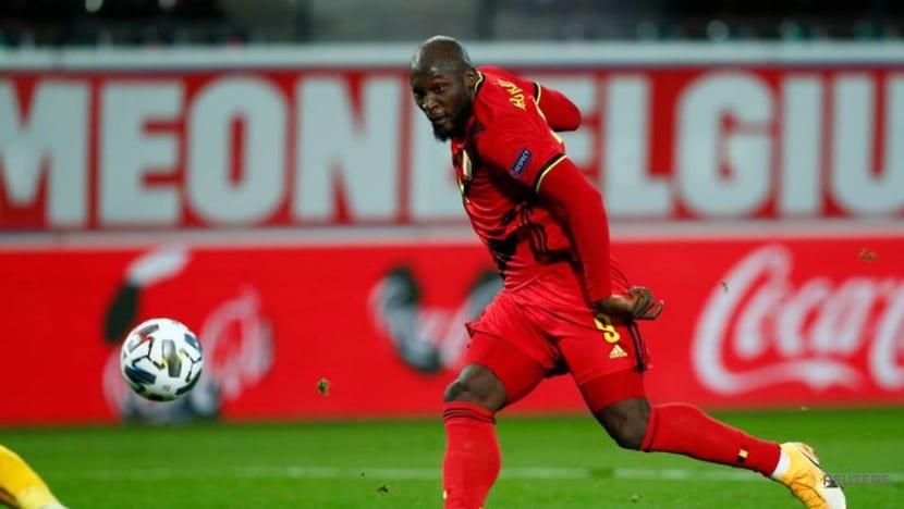 Football: Lukaku double sends Belgium into Nations League final four