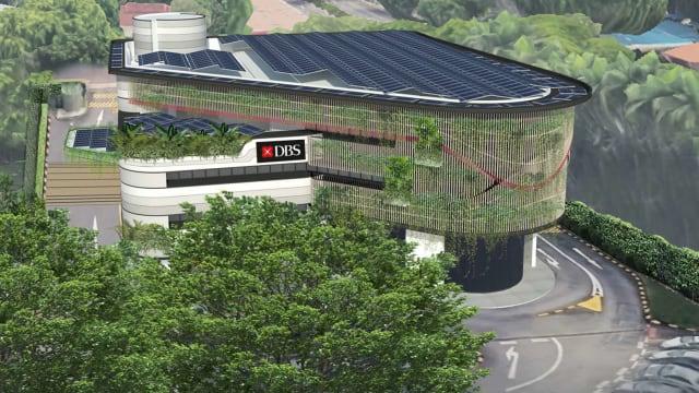 星展银行将把办公楼改装成净零能源建筑