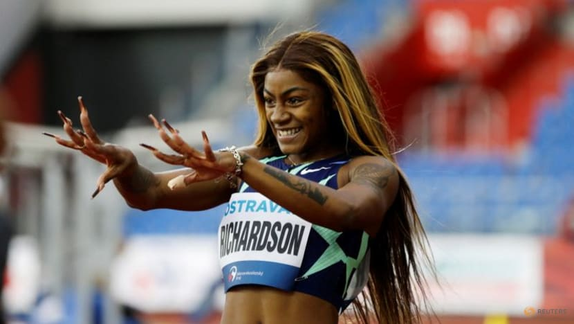 Athletics-Richardson glad her ban brought attention to sprinting