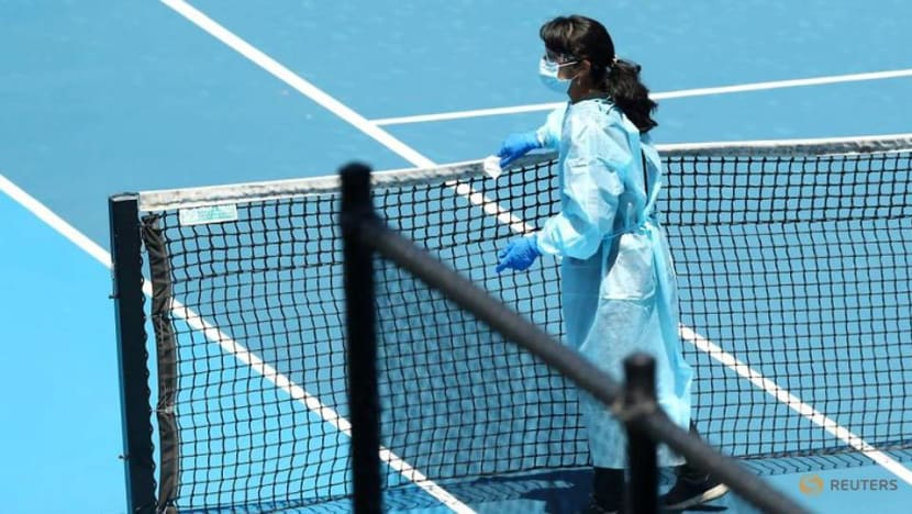 Melbourne imposes new COVID-19 restrictions as Australian Open hotel worker tests positive