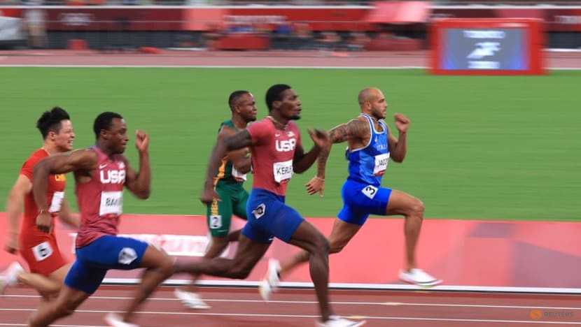 Olympics-Athletics-Another relay fail as US men finish sixth in heat to miss final