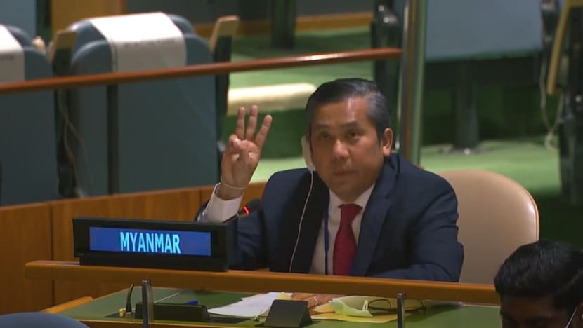 Myanmar's UN ambassador appeals to world body for action to end military coup