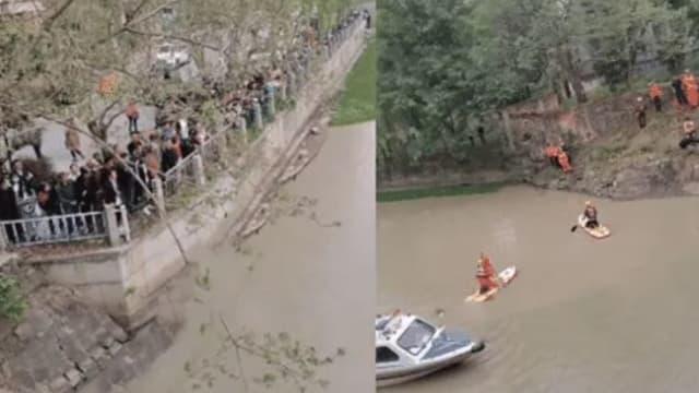 被拒玩手机赌气跳河 母亲下水救女双双溺毙