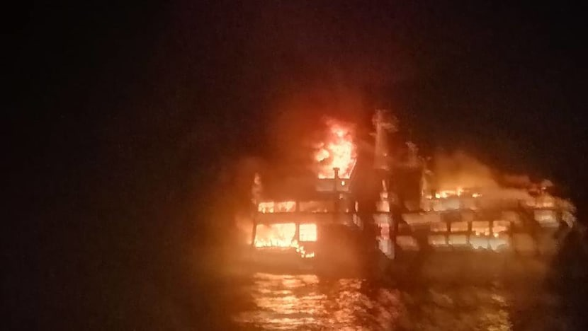 Three dead, more than 240 rescued after Philippine ferry blaze