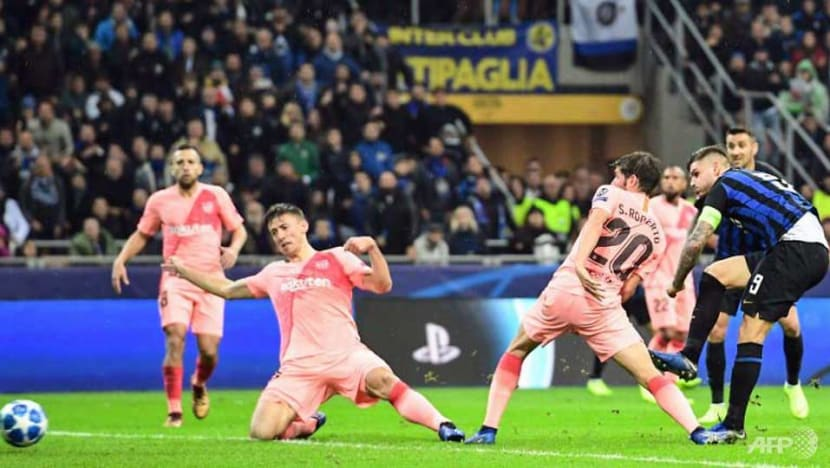 Football: Barcelona through to Champions League last 16 after Inter draw