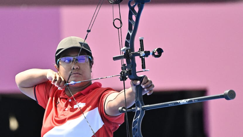 Singapore archer Nur Syahidah Alim out of Tokyo Paralympics after losing in elimination round