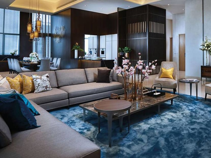 Home Tour: A stylish Singapore penthouse in the CBD with Asian influences