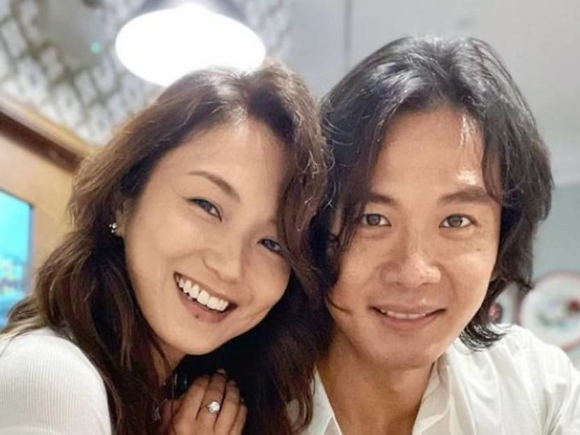 Qi Yuwu gets a chance to celebrate his birthday in Singapore with Joanne Peh