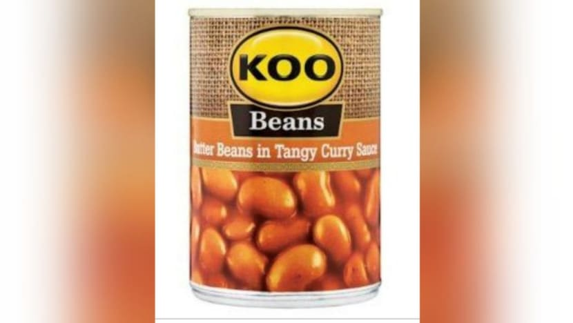 Several KOO canned vegetable products recalled due to potential canning failure: SFA