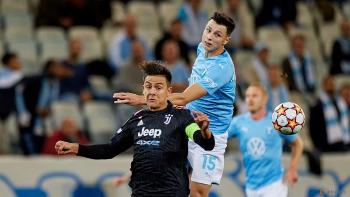 Football: Juventus off to winning Champions League start at Malmo