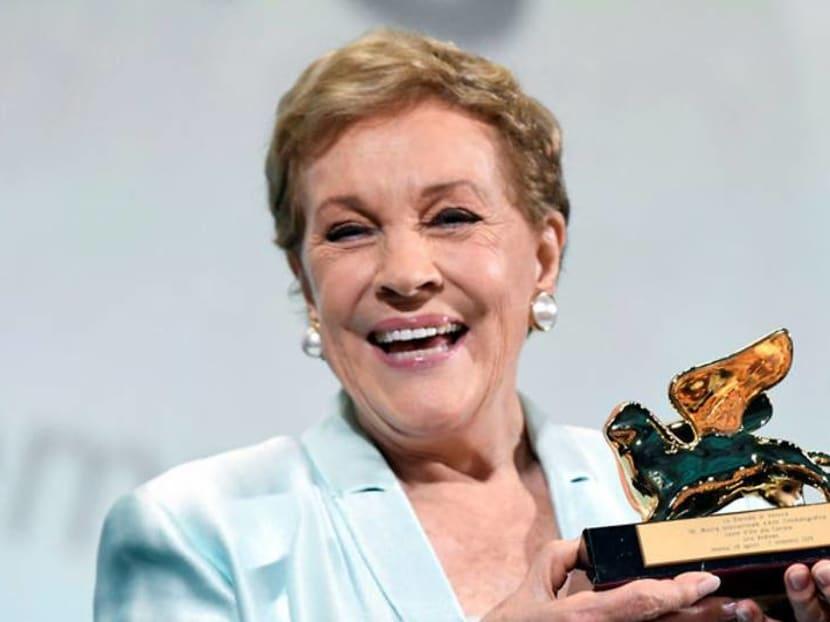 Julie Andrews receives lifetime achievement award, feels 'blessed' for her career