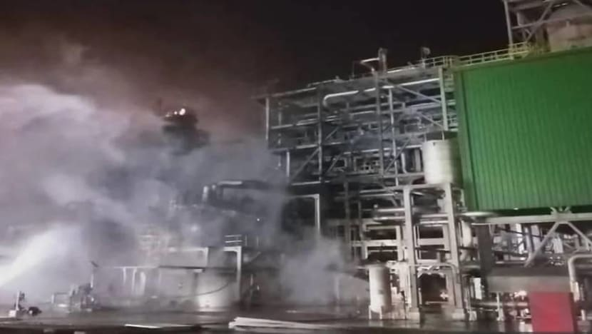 Five dead in fire at Petronas-Aramco petrochemicals complex in Johor