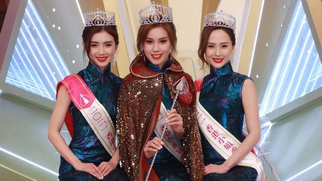 《香港小姐2021》决赛爆失误 冠军是混血美女
