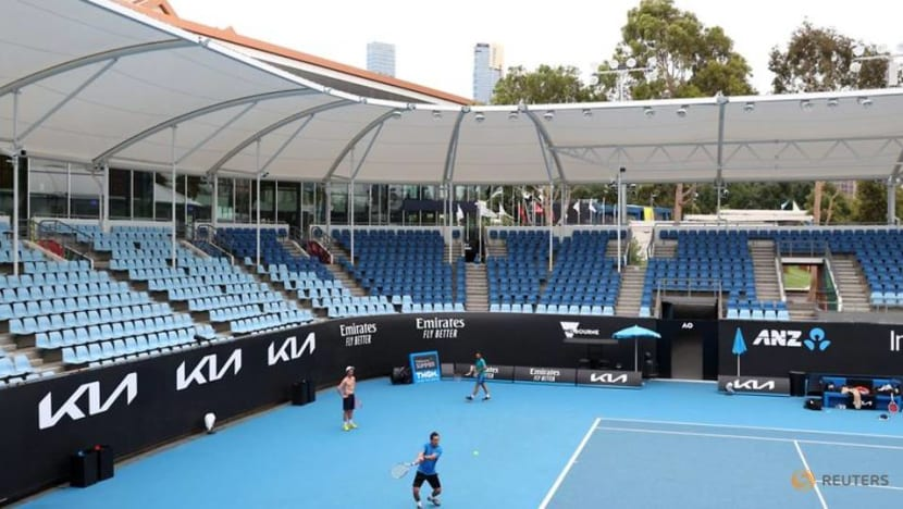 Play on: Australian Open continues under lockdown