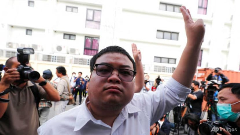Thai protest leader on hunger strike given IV drip in prison