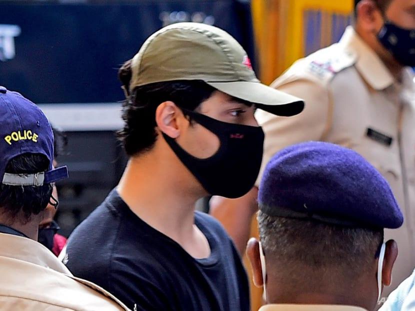 Son of Bollywood star Shah Rukh Khan in custody in drugs probe