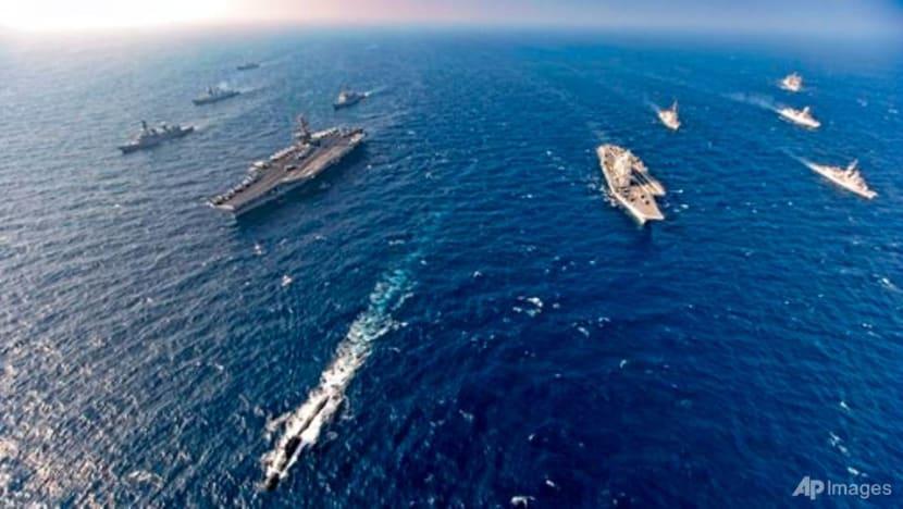 India, US, Japan, Australia resume naval exercise