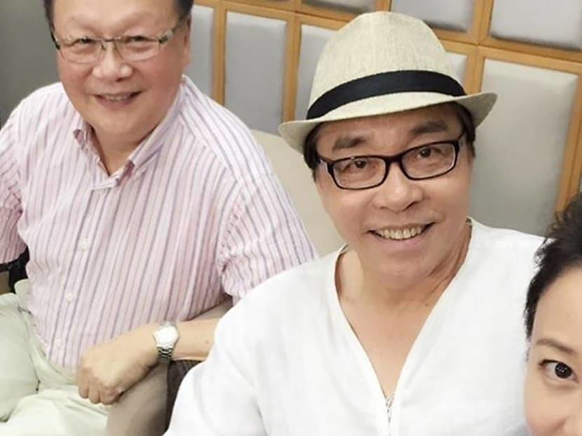 Actress Xiang Yun pays tribute to veteran HK TV producer who died yesterday