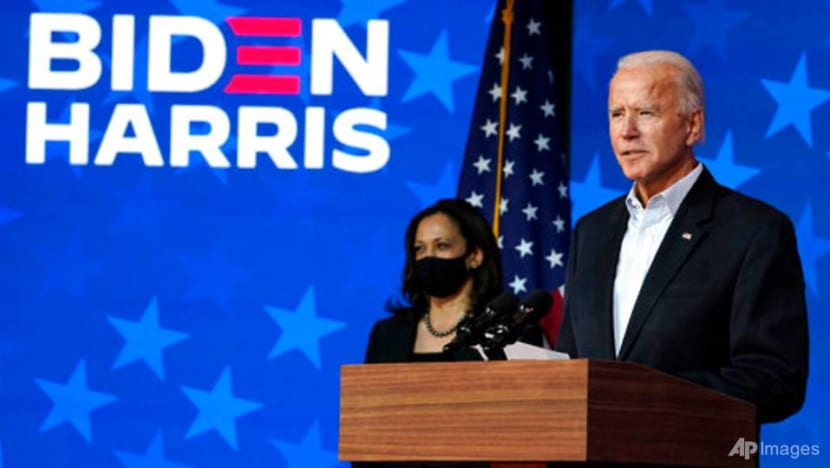 Biden says he will win presidency, calls for patience as votes are counted