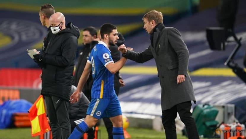 Football: Maupay on target as Brighton sink lacklustre Leeds